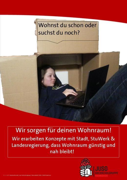 Plakat-Wohnen