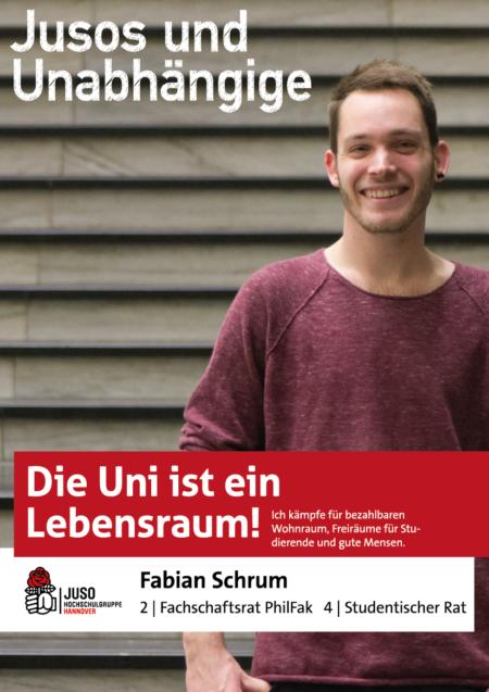 Plakat Fabian Schrum