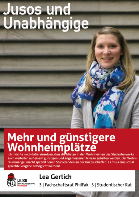 Plakat Lea Gertich