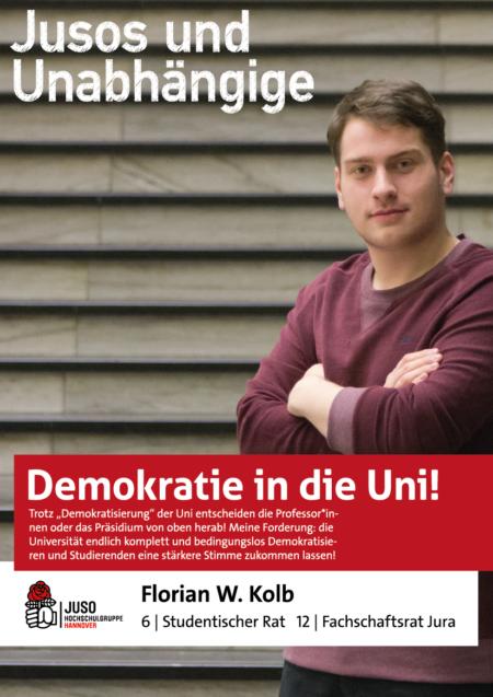 Plakat Florian W. Kolb