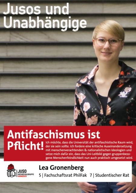 Plakat Lea Gronenberg