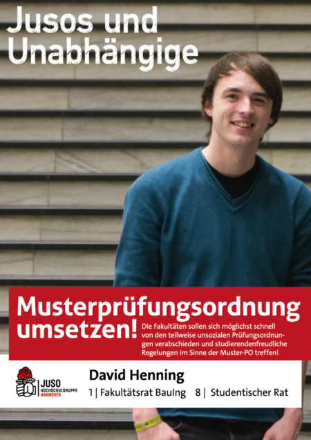 Plakat David Henning