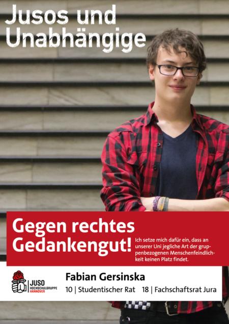 Plakat Fabian Gersinska