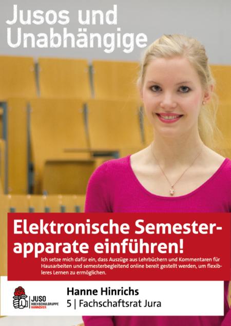 Plakat Hanne Hinrichs