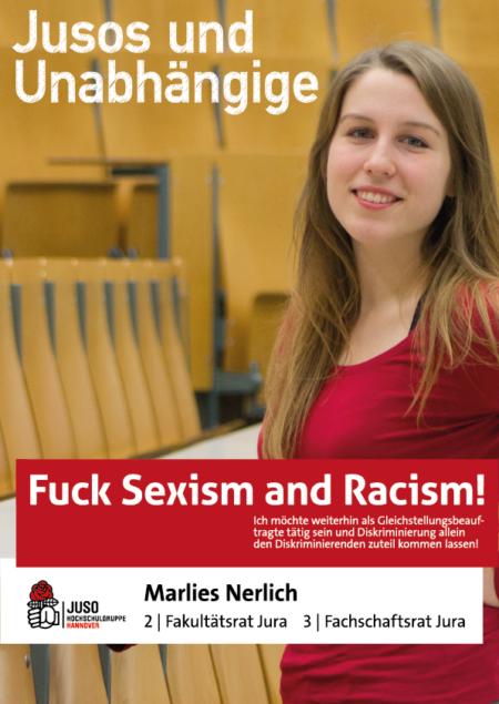 Plakat Marlies Nerlich