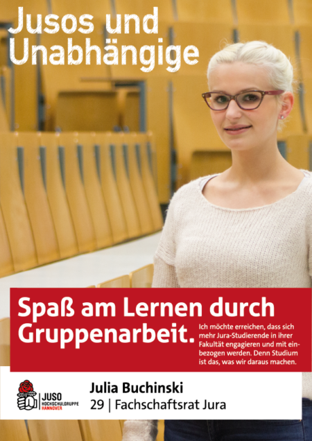 Plakat Julia Buchinski