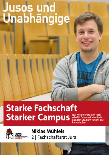 Plakat Niklas Mühleis