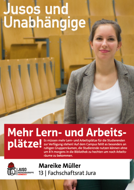 Plakat Mareike Müller
