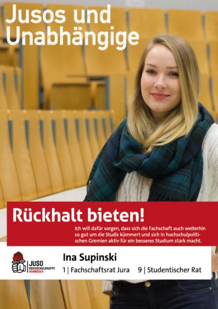 Plakat Ina Supinski