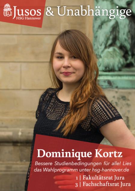 Plakat: Dominique Kortz