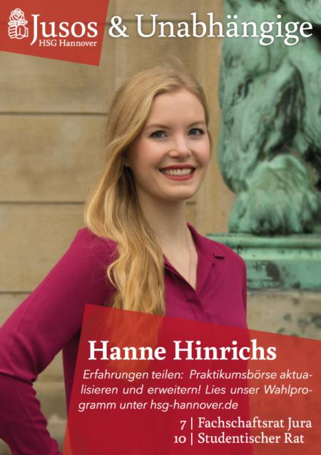 Plakat: Hanne Hinrichs