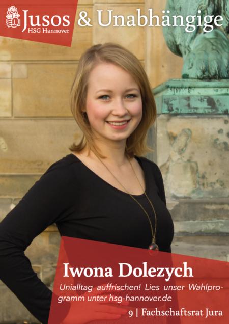Plakat: Iwona Dolezych
