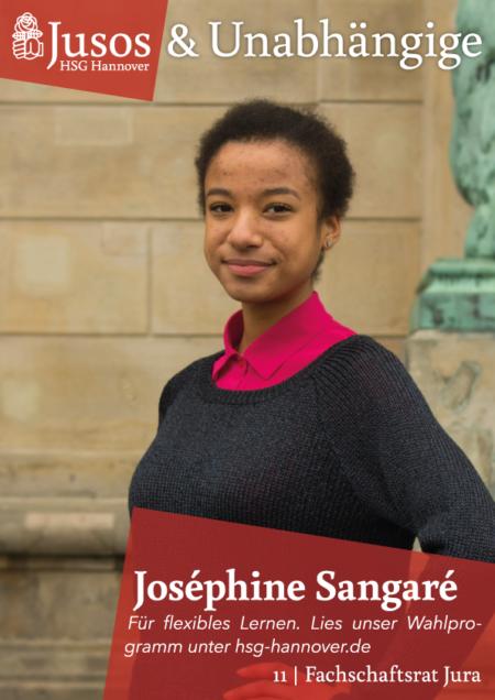 Plakat: Joséphine Sangaré