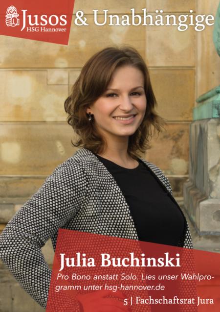 Plakat: Julia Buchinski