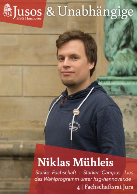 Plakat: Niklas Mühleis